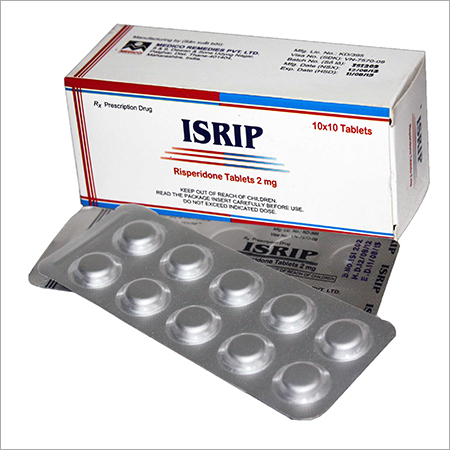 Risperidone 2mg Film Coated Tablets