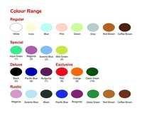 Sanitary ware Color Range