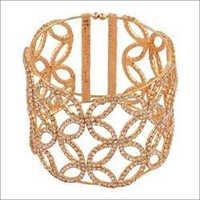 Elegant Geometric Hand Cuff Bracelet
