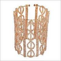 Elegant Geometric Handcuff Bracelet