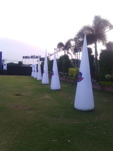 Event Decoration Inflatable Cone with Led Light