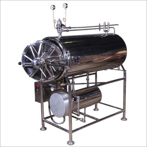 Semi Automatic Horizontal Cylindrical Autoclave