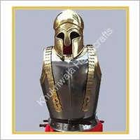 Armor With Greek Helmet