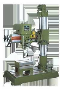 Belt Driven Radial Drill Machine