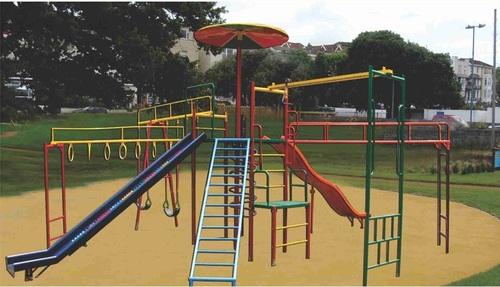 Multi Play System With Octagonal Desk