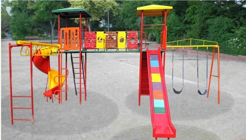 Multi Play System With Spiral & Roller