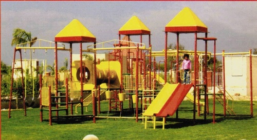 Multi Play System with FRP Tube Bridge