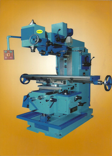 All Geared Head Vertical Milling Machine