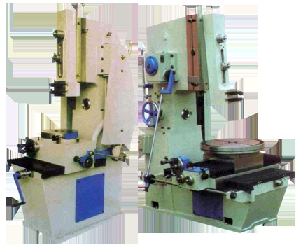 Slotting Machine with Rotary Auto Feed and All geared