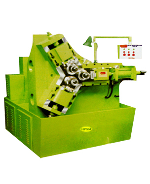 3 Roll Hydraulic Threading Machine