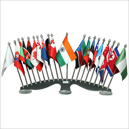 Acrylic Flags Stand