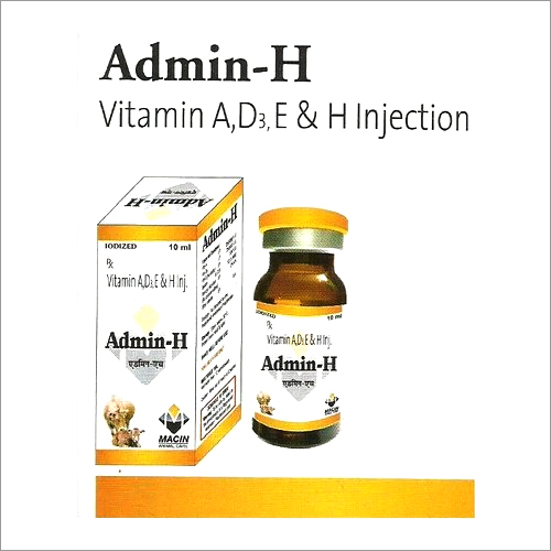 Vitamin A,D,E & H Injection