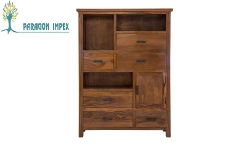 Wooden Side Drawer Chest