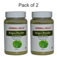 Ayurvedic Moringa Shigru Powder 100gm for Joint Pain Relief (Pack of 2)