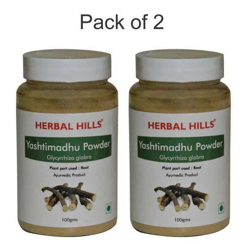 Ayurvedic Yashtimandhu powder 100gm for Cough & Cold, Immunity booster (Pack of 2)