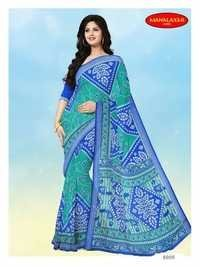 100% Cotton Printed Sarees Wholesale Rate