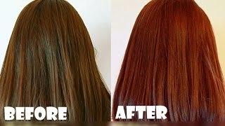 Henna Based Hair color Mahogany