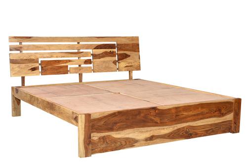 Wooden Scandinavian Bed