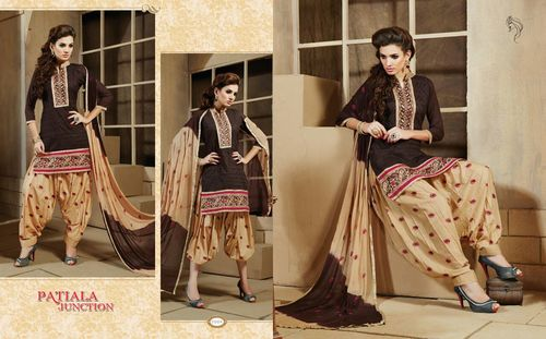 Wholesale Bottom Work Patiala Salwar Suits