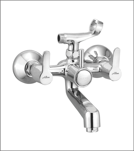 Wall Mixer with Tel. Shower