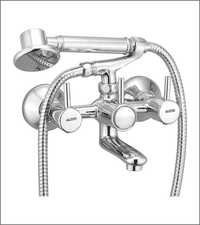 Wall Mixer with Tel. Shower, Tube & Crutch