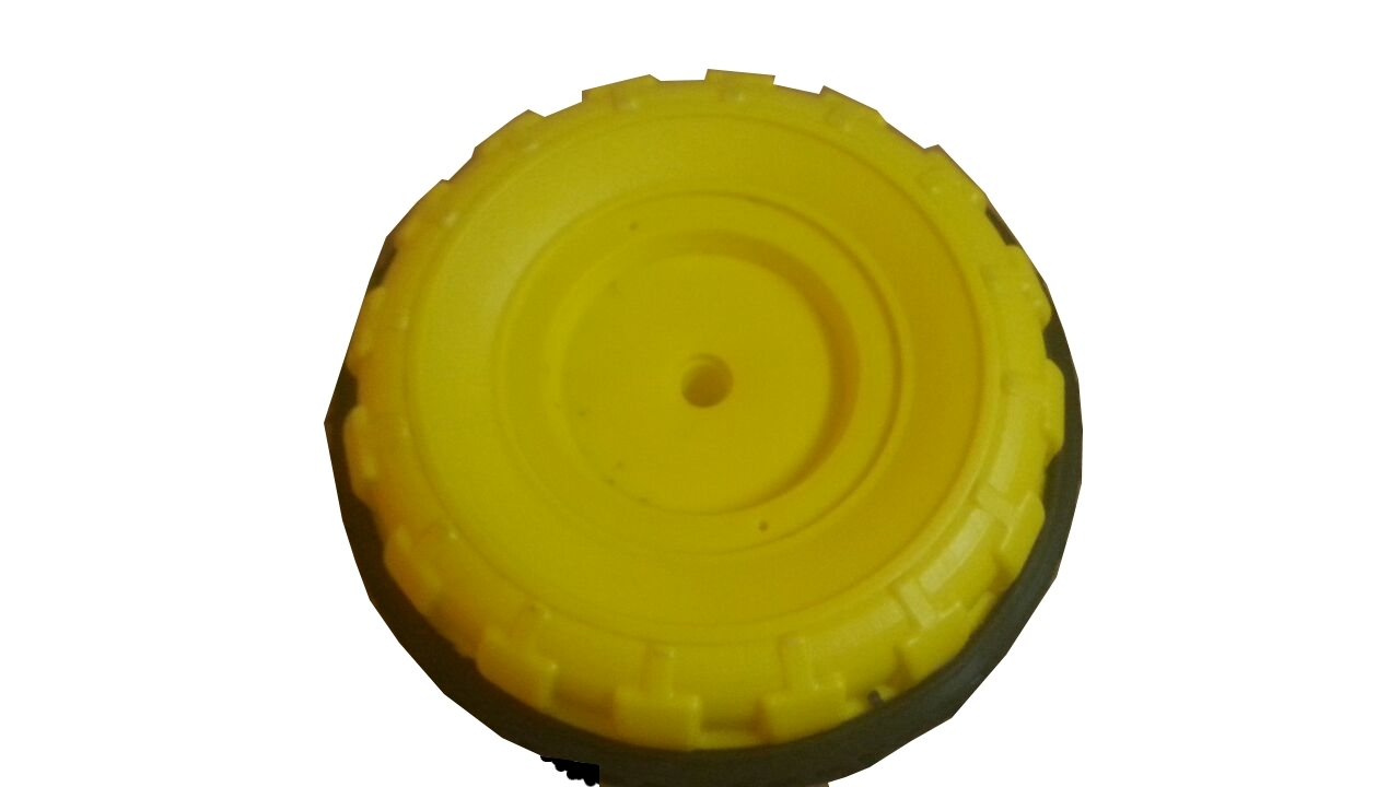 Yellow Tricycle Wheel