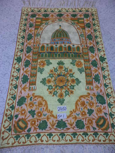 Hand made prayer rugs