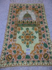 Hand made prayer rugs