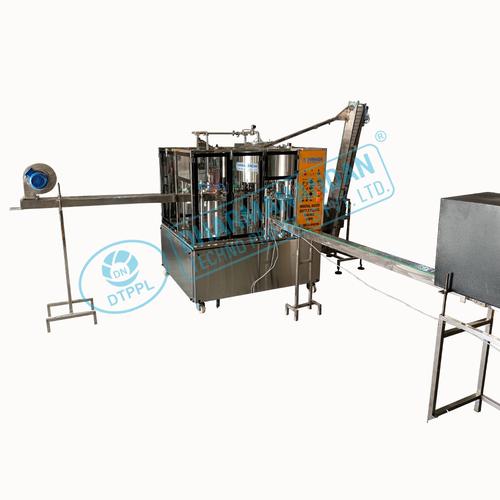 Automatic Bottle Washing Filling Machine