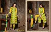 Titanium Bottom Work Salwar Suits Wholesale