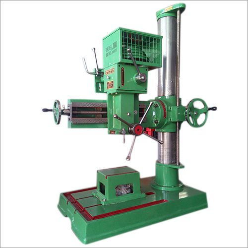 Single Column Radial Drill Machine