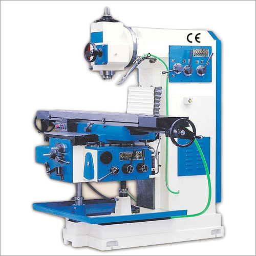 Vertical All Geared Milling Machine