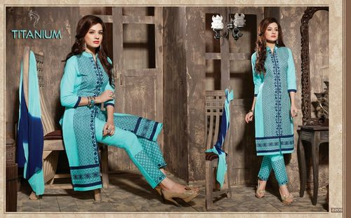 Titanium Party Wear Wholesale Salwar Suits