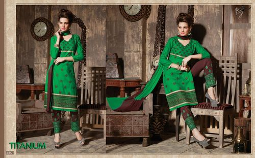 Titanium Kuchhi Work Wholesale Salwar Suits