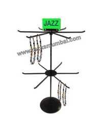 Table Top 2 Level Revolving Stand for Jewellery