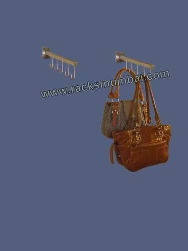 Wall Mounted J Hooks For Handbags