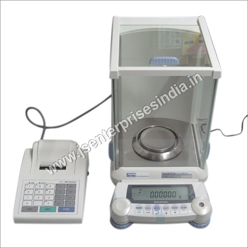 Analytical Weighing Balance with Printer facility