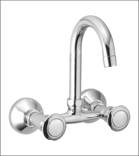 Sink Mixer with Swinging Spout