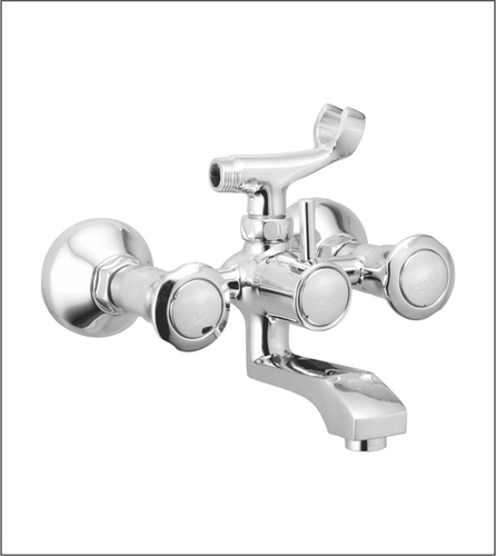 Wall Mixer with Telephonic Shower Arrangement Only