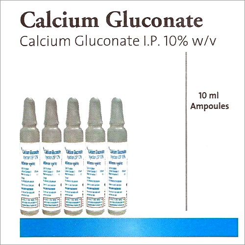 Calcium Gluconate Injections