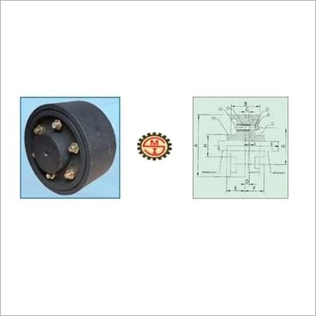 Flexible Brake Drum Coupling