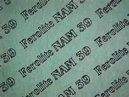 Ferolite NAM 39 Gasket Sheet