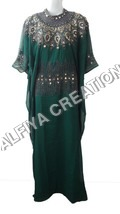 Antique Embroidery Work Exclusive Farasha Kaftan