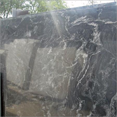 Industrial Black Marble Slab