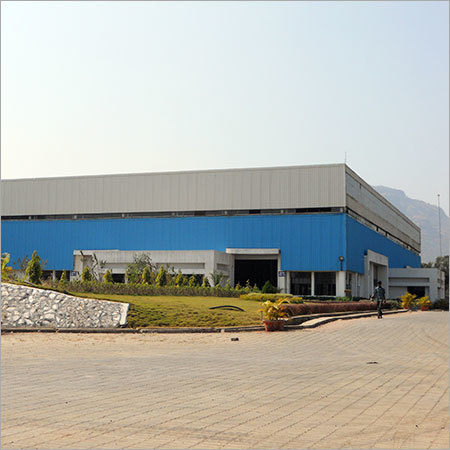 Heavy Duty Factory Shed