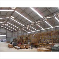 Industrial Light Duty Shed
