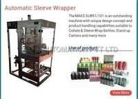Automatic Sleeve Wrapper Machine