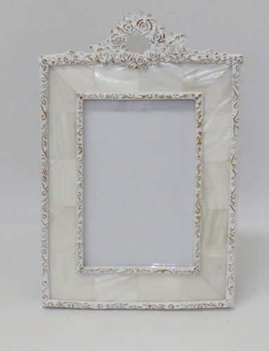 Photo Frame 4×6 Rosette Mother of Pearl