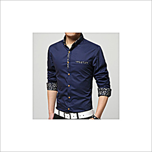 Double Collar Full Sleeves Casual Shirt