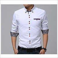 Men's Poplin Fancy Shirts